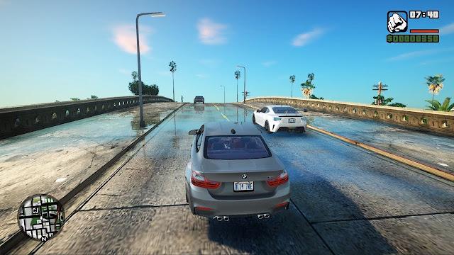 GTA San Andreas Ultra Graphics Free Download