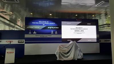Launching NVX155 di Malaysia