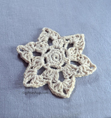 Crochet Flower Coasters Pattern