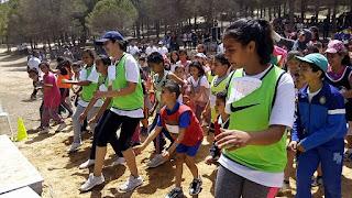 Journée exceptionnel festival du sport scolaire forêt lahmari rafraf le 6/5/2017
