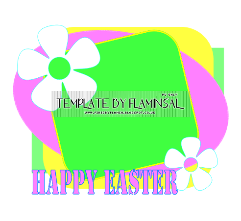 Easter Templates 1 - 4