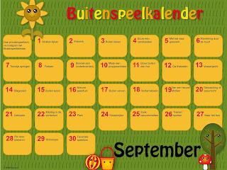 buitenspeel kalender