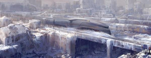 Le train et la planète glacée Le Transperceneige de Jean Marc Rochette