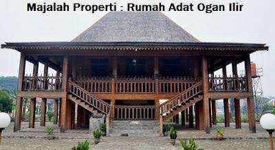 Desain Bentuk Rumah Adat Ogan Ilir dan Penjelasannya, Rumah Adat Nusantara
