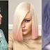 Pastel bob hairstyles