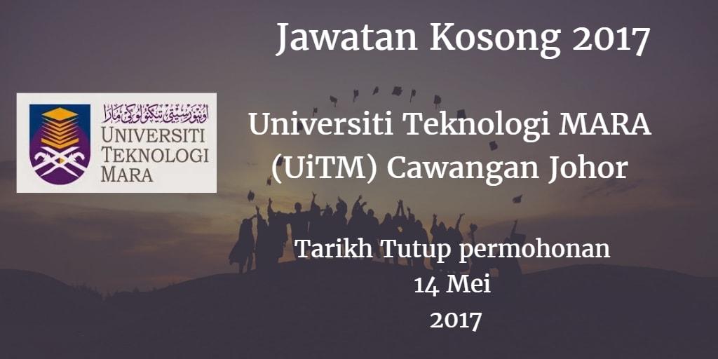 Jawatan Kosong UiTM Cawangan Johor 14 Mei 2017