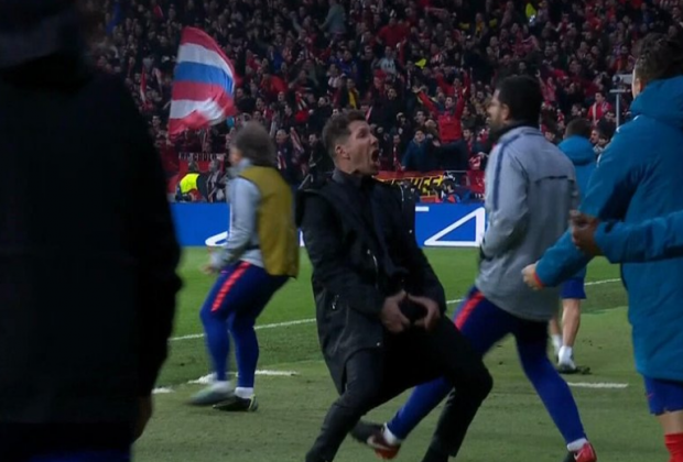 Diego Simeone Explains His Celebration Gesture After UCL Triumph Over Juventus