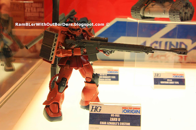 ZAKU, Bandai model, action figure, Takashimaya Square, Singapore