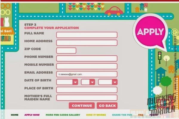 Mucking Around Manila: BPI's More Fun Visa Prepaid Card