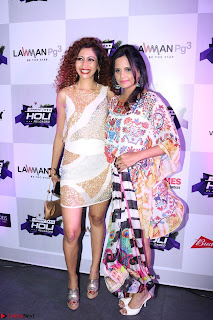 Pre Celetion Of India Premiere Edm Holi Festival With Many Bollywood Celebrities   9th March 2017 005.JPG