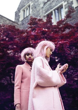 Images of Inspiration: Pink, is all pink charming and feminine 06-24-2016 {Cool Chic Style Fashion}