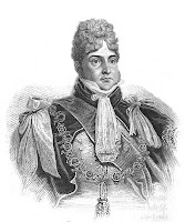 George, Prince of Wales, later George IV  from Memoirs of Her Late Majesty  Queen Charlotte  by WC Oulton (1819)