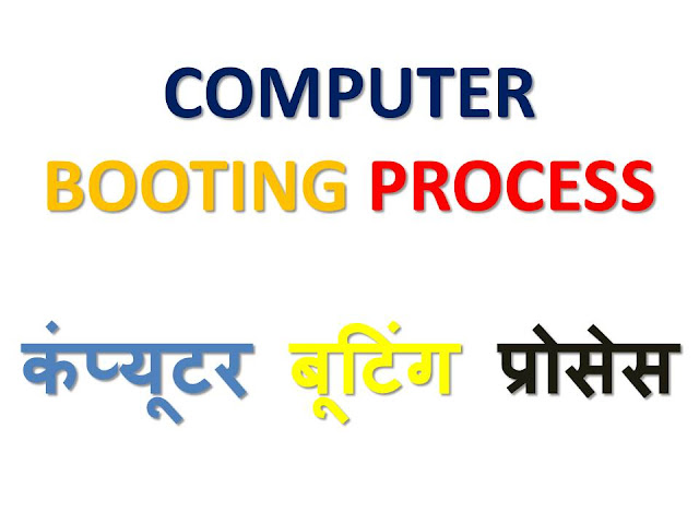computer booting process