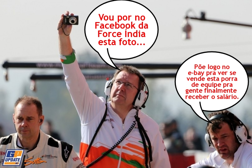 ef6df701a1487 Não tá fácil pra ninguém (1) - Force Índia