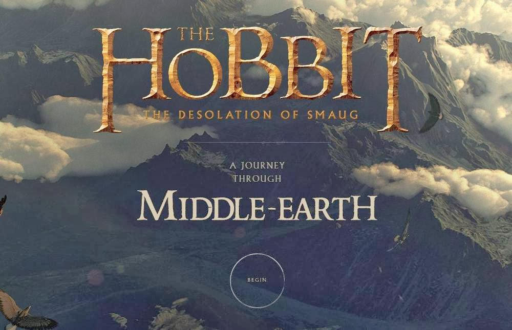 The-hobbit-a-journey-through-middle-earth-viaje por la tierra media- el hobbit la desolacion de smaug