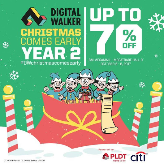 Christmas Comes Early with Digital Walker 2017