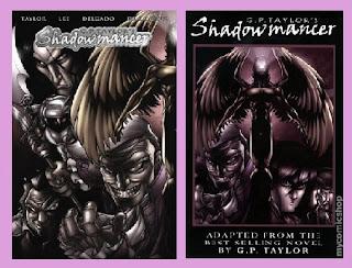 portadas del cómic de fantasía Shadowmancer