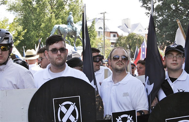 """""""HATE CRIME"""" CHARGES FOR FIELDS A BAD OMEN FOR """"UNITE THE RIGHT"""" CIVIL CASE"""