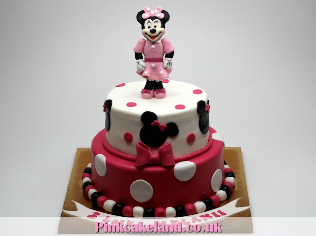 Minnie Mouse Children Birthday Cake in London