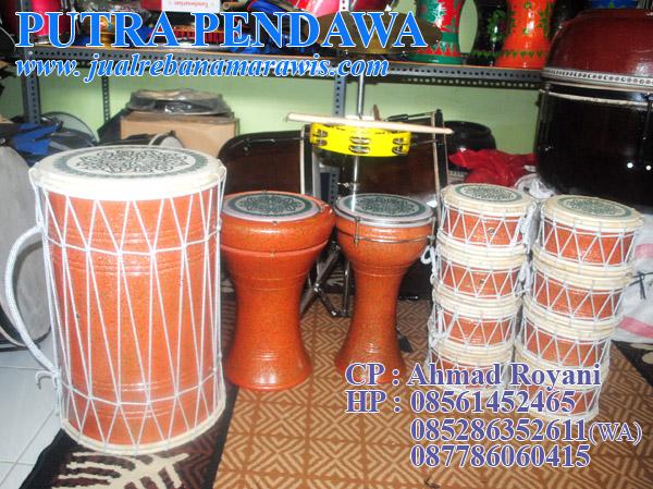 Paket  Marawis Polos Eksklusif Orange