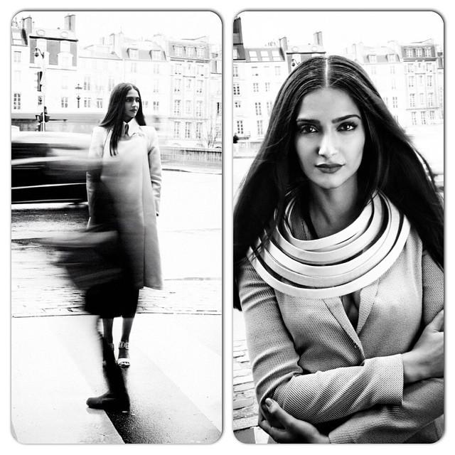 beautiful @sonamkapoor in beautiful paris , .. vogue , vogue india , beauty , makeup , ❤️❤️❤️, Sonam Kapoor Vogue Magazine Bold Scans April 2015 Issue
