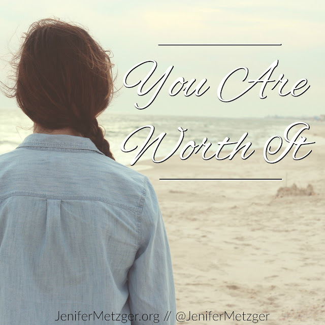 You are worth it. Worth God's love, mercy, forgiveness, healing and time. You are worthy it. #guilt #shame #fear #forgiveness #healing #encouragement #inspiration