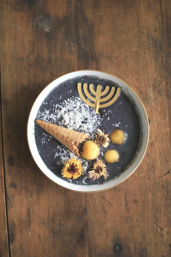 Yom Teruah Shofar Smoothie Bowls | Land of Honey