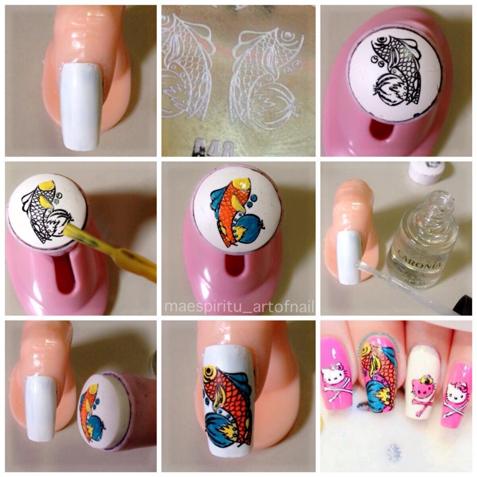 Best Nail Designs And Tutorials: ART OF NAIL: Advance Stamping Technique Tutorial