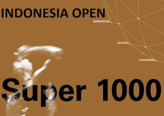 HSBC BWF World Tour Indonesia Open Biss Key 6 July 2018