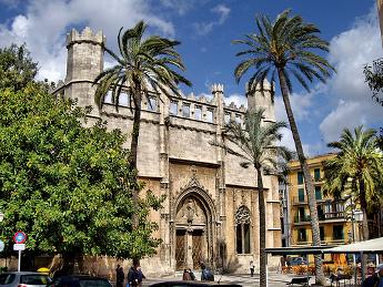 Vista exterior de la Lonja - Mallorca