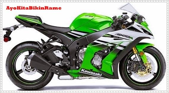 Gambar Motor Kawasaki Ninja ZX10R 2015