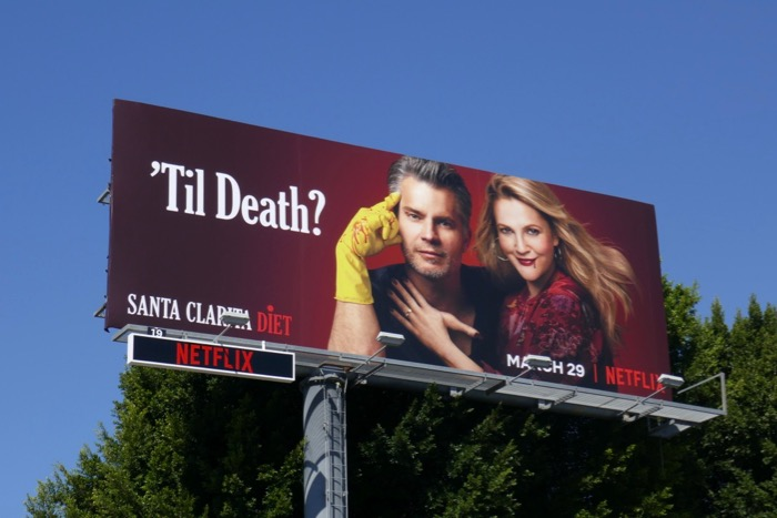 Santa Clarita Diet season 3 billboard