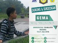 MTQ-MR Jawa Timur Universitas Trunojoyo Madura 2016 [Dibalik Layar]
