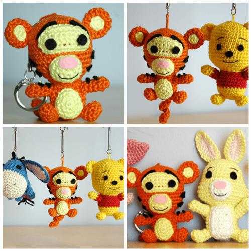 Tigger (Winnie the Pooh) - Free Pattern