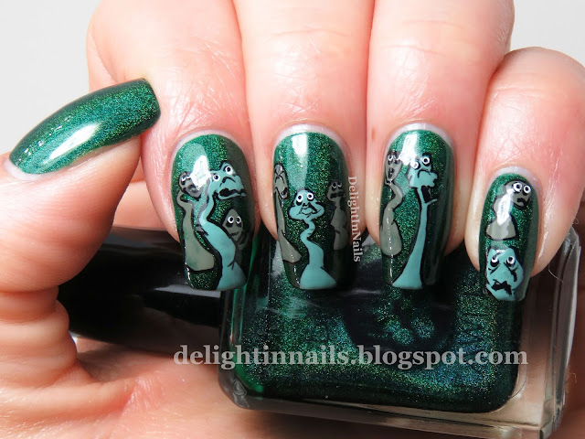 delight in nails 40 great nail art ideas music