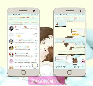 Couple Theme For Fouad WhatsApp & YOWhatsApp Create By Gih