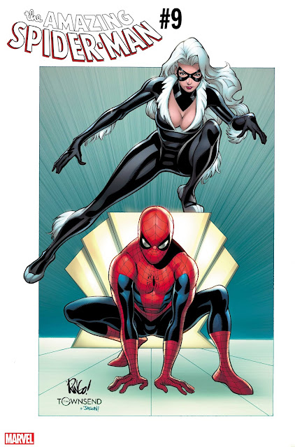 AMAZING SPIDER-MAN Black Cat Covers