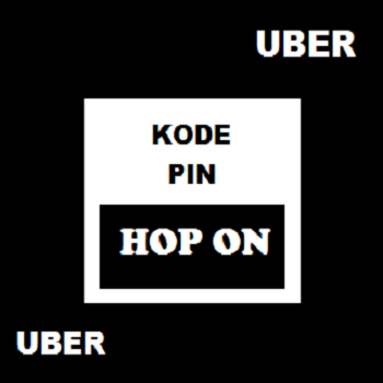 Kode PIN HOP ON UBER