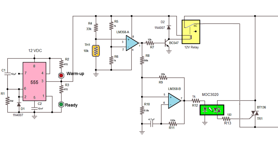 Energy Saving Soldering Station Circuit Diagram Nonstopfree