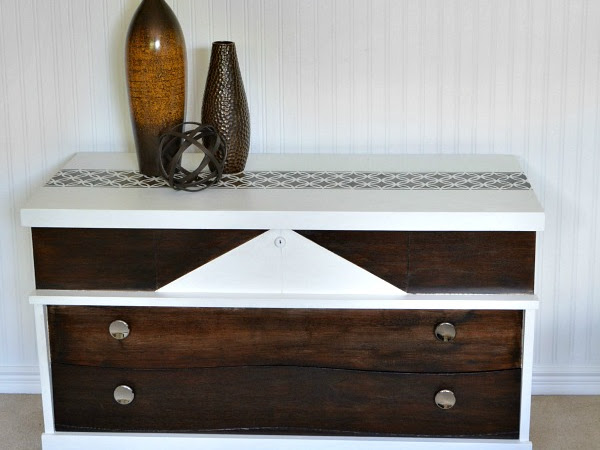 Mid Century Modern Cedar Chest Makeover Act Two