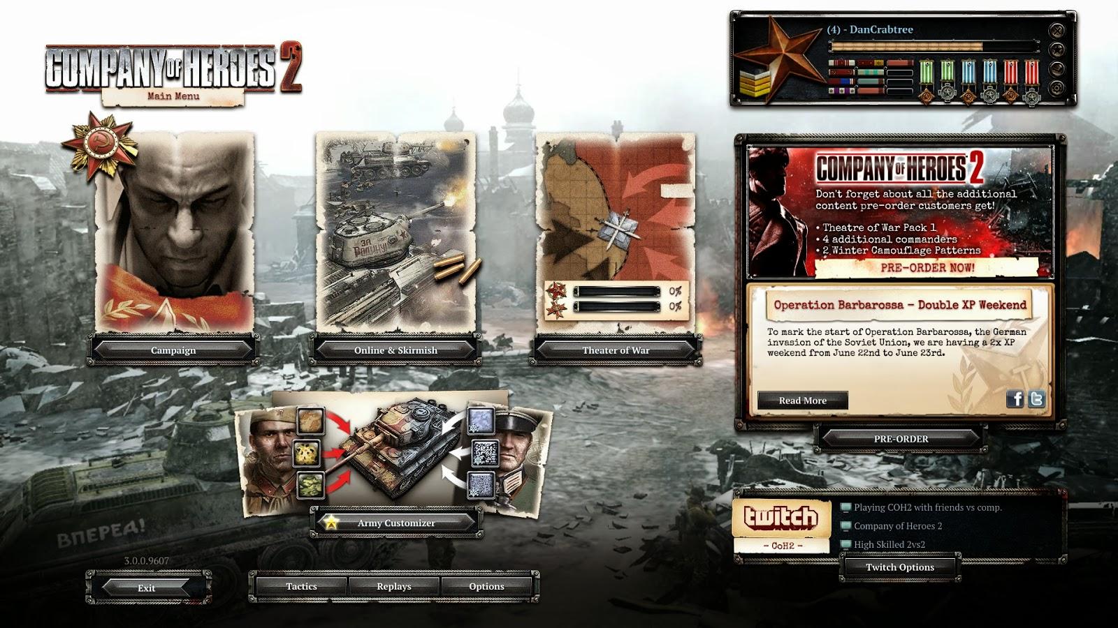 Dan Crabtree Company Of Heroes 2 Review
