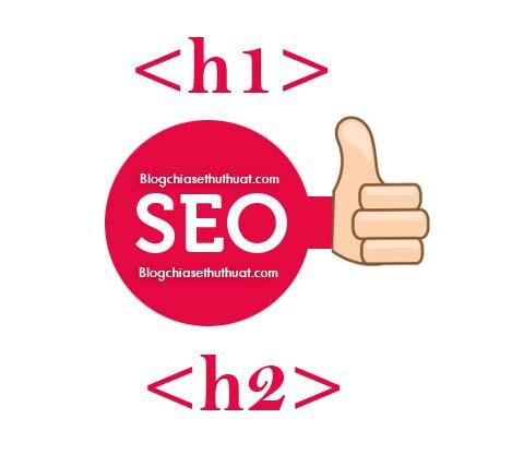Tối ưu hóa thẻ tiêu đề H1 cho blogspot