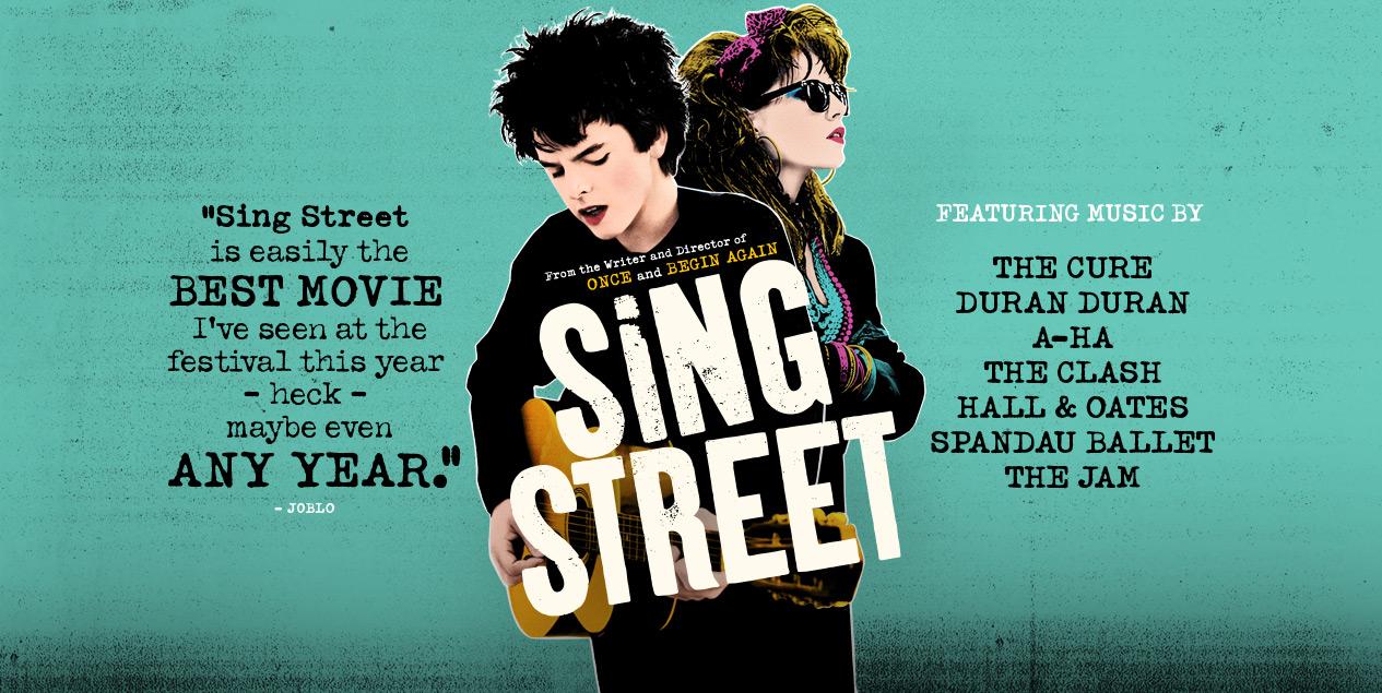 SING STREET de John Carney - cartel