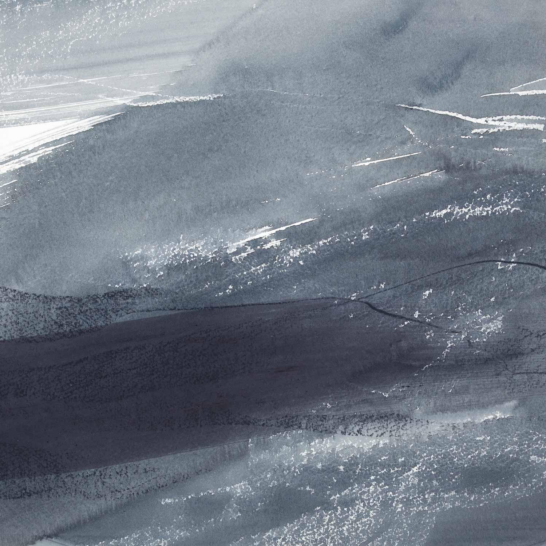30 x 30 cm aquarelle craies grasses et crayons sur papier 4 oct 13