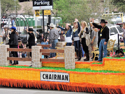 CHAIRMAN Float at the Rodeo Houston Parade