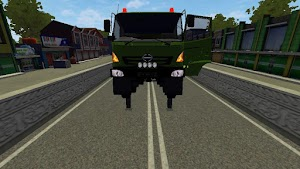 Mod Truck Hino Excavator 6x4 Bussid