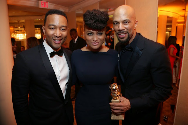Bill O'Reilly has said Common is an example of 'the usual rap stuff, touting guns and other anti-social behaviors.' Yeah, you old racist fuck, that's what Common won that Golden Globe in January for: the usual rap stuff, touting guns and other anti-social behaviors.
