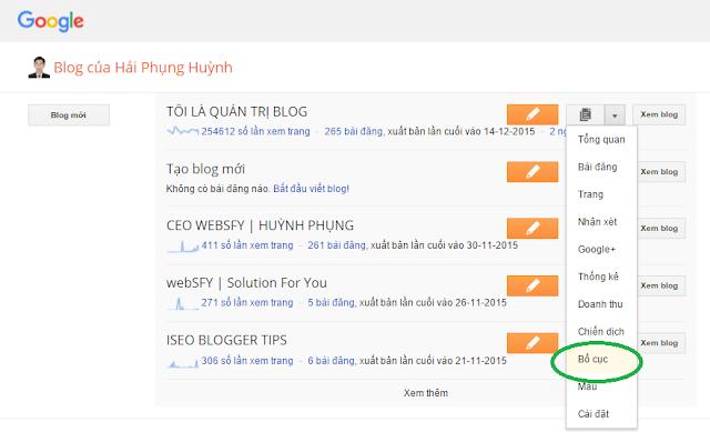 Blogger cơ bản