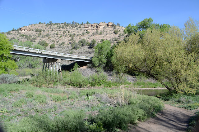 bridge over the river Gila