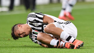 Juventus: Dybala out per altre 3 settimane!